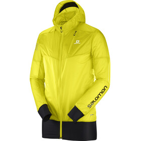 Salomon Fast Wing Hybrid Jacket Men Sulphur Spring/Black